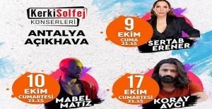 """""""Antalya Açıkhava'da Ünlüler Geçidi"""""""