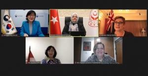 Bakan Selçuk MIKTA Ülkeleri Kadından Sorumlu Bakanlar Toplantısına Başkanlık Etti