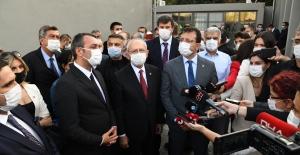 CHP Genel Başkanı Kılıçdaroğlu Kadıköy'ü Ziyaret Etti