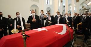 Cumhurbaşkanı Erdoğan, Markar Esayan'ın Cenaze Törenine Katıldı
