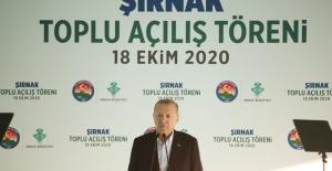 """Cumhurbaşkanı Erdoğan: """"Tam 18 yıldır, hiçbir ayrım yapmadan Hizmet Üretiyoruz"""""""
