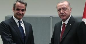 Cumhurbaşkanı Erdoğan, Yunanistan Başbakanı Miçotakis İle Telefonda Görüştü