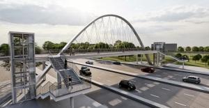 Gölbaşı Belediye Başkanı Şimşek, Ankara'da İlk Olacak Bisiklet Köprüsü Kuruyor…