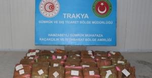 Hamzabeyli Gümrük Kapısında 165 Kilogram Uyuşturucu Ele Geçirildi