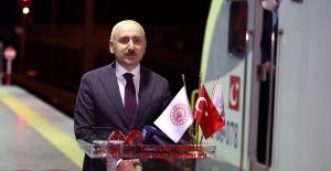 Marmaray Trenleri Açıldığı Günden Bugüne Kadar 14 Milyon 700 Bin Kilometre Yol Kat Etti