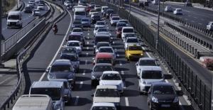 Trafiğe Kayıtlı Toplam Taşıt Sayısı 23 Milyon 854 Bin 820 Oldu