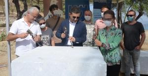 Uluslararası Kuşadası Neopolis Heykel Sempozyumunda İlk Çekiç Vuruldu