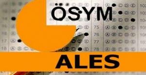 2020-ALES/2 Sınava Giriş Belgeleri Erişime Açıldı