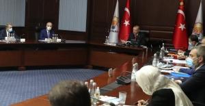 AK Parti Merkez Yürütme Kurulu(MYK) Toplandı