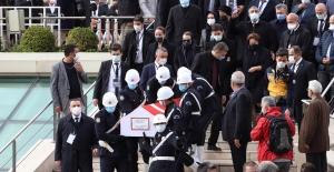 Akşener, Eski Başbakan Mesut Yılmaz'ın Cenaze Törenine Katıldı