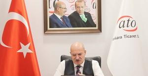 """ATO Başkanı Baran, """"E-İhracat Seferberliği""""ni ATO Üyelerine Anlattı"""