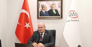 ATO Başkanı Baran'dan Hizmet Sektörü İçin Kira Desteği Talebi