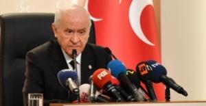 """Bahçeli: """"CHP'nin Depremin Enkazı Üzerine Kurmak İstediği İstismar Kumpası Bozguna Uğramıştır"""""""