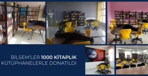 BİLSEM'ler 1000 Kitaplık Kütüphanelerle Donatıldı