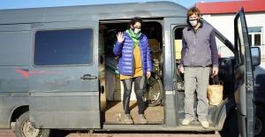 Bisikletle Geçtikleri Türkiye'ye Karavanla Döndüler. Dünyada Tek Olan Bisiklet Akademisi'ne Hayran Kaldılar