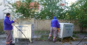 Çöp Konteynerlerinin Yerini Değişterene,...