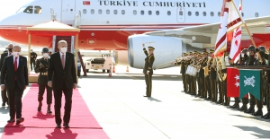 Cumhurbaşkanı Erdoğan Kıbrıs'ta