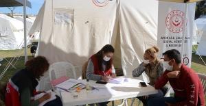 Depremin Altıncı Gününde Çalışmalar Sürüyor