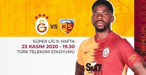 Galatasaray - Hes Kablo Kayserispor'un ilk 11'leri Belli Oldu