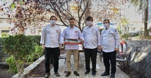 Gastronominin Ustalarından Başkan Günel'e Ziyaret