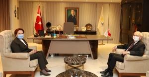 Kılıçdaroğlu, Akşener Görüşmesi Başladı
