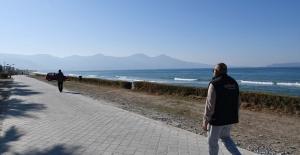 Kuşadası Belediyesi Kentteki Yürüyüş Yolu Sayısını Arttırıyor