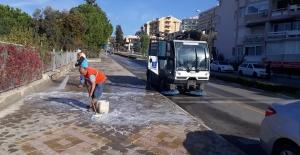 Kuşadası Belediyesi Pandemi Tedbirlerini Elden Bırakmıyor