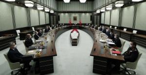 MGK, Cumhurbaşkanı Erdoğan'ın Başkanlığında Toplandı