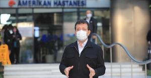 """Taburcu Olan İmamoğlu'ndan Deprem Mesajı: """"Karantina Biter Bitmez İzmir'e Gideceğim"""""""
