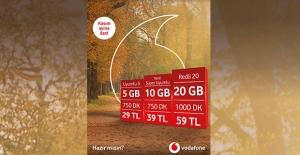 Vodafone'dan Kasım'a Özel Avantajlı Teklifler