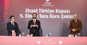 Ziraat Türkiye Kupası 5. Eleme Turu Kura Çekimi Yapıldı