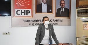 """CHP Kuşadası Kadın Kolları Başkanı Dağlı """"Kadınlar Ülkemizin Kaderini Değiştirecek"""""""