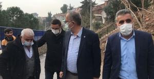 """CHP'li Sertel: """"Çiğli'yi Heyelan Vurdu, 33 Ev Yıkılma Tehlikesiyle Karşı Karşıya"""""""