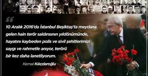 """Kılıçdaroğlu: """"Terörü Bir Kez Daha Lanetliyorum"""""""