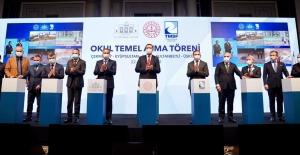 TMSF İle İstanbul'da Yapılacak 6 Okulun Temeli Atıldı