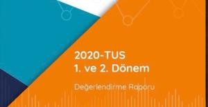2020-TUS 1. ve 2. Dönem Değerlendirme Raporu Yayımlandı