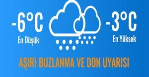 Ankara Valiliği'nden Kar Ve Don Uyarısı!