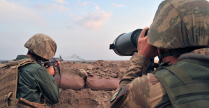 Azez'e Havanlı Taciz Ateşinde Bulunan 7 Terörist Etkisiz Hale Getirildi