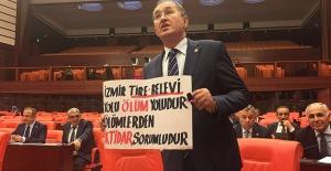 """CHP'li Sertel Tire-Belevi Yoluna Ayrılan Bütçeyi Eleştirdi: """"Ölümlerden İktidar Sorumludur"""""""