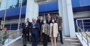Gelecek Partisi'nden CHP'ye Ziyaret