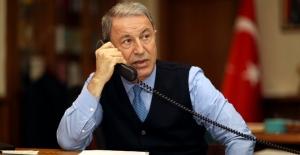 Millî Savunma Bakanı Akar, İngiltere Savunma Bakanı Wallace İle Telefon Görüşmesi Yaptı
