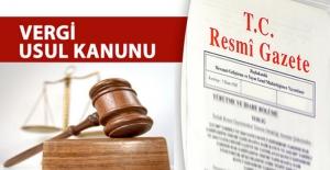 Subaşı'ndan VUK'ta Değişiklik İçin Kanun Teklifi