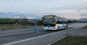 Türkiyenin Sürücüsüz Otobüsü...