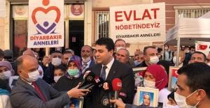 """Uysal, """"Siyasi Partiler Terör Örgütlerine Sırtını Dayamaz, Millete Sırtını Dayarlar"""""""