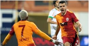Galatasaray, Alanya Karşısında Kupanın Rövanşını Aldı