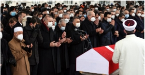 Cumhurbaşkanı Erdoğan, Kadir Topbaş'ın Cenaze Törenine Katıldı