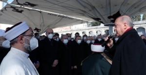 Cumhurbaşkanı Erdoğan, Muhammed Emin Saraç'ın Cenaze Törenine Katıldı