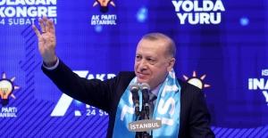 """Cumhurbaşkanı Erdoğan, """"Onlara Rağmen Kanal İstanbul'u Da Yapacağız, İnadına Yapacağız"""""""