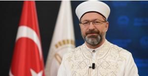 Diyanet İşleri Başkanı Erbaş'tan 'Üç Aylar' Mesajı