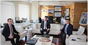 ATO Emlak Ve Ankara Emlak Odalarından Feyzioğlu'na Nezaket Ziyareti